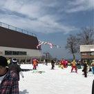 春のかぐらスキー場の記事より