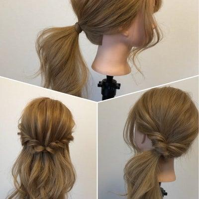 ゴム1つで出来る♡ヘアアレンジ集の記事に添付されている画像