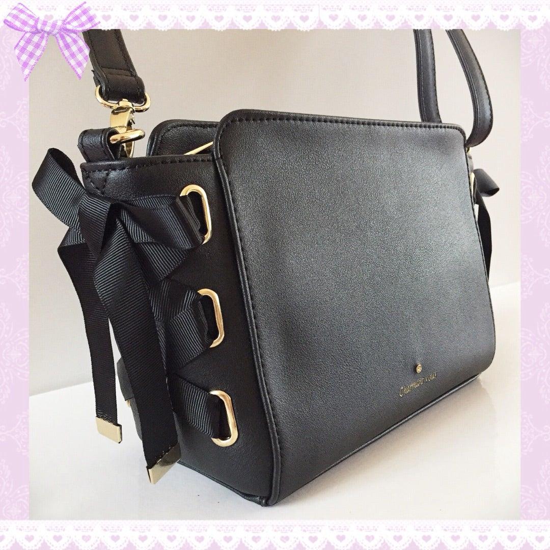dd6d1739a235 しまむら購入品♡リボンレースアップショルダーバッグ♡大人可愛いバッグ♡他いろいろ♡♡ | ♡ふりるのお気に入り♡