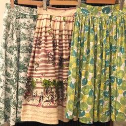 画像 50's vintage skirt の記事より 1つ目
