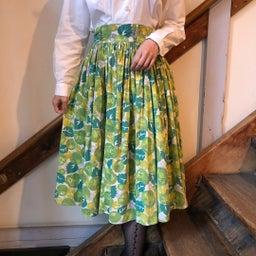 画像 50's vintage skirt の記事より 6つ目