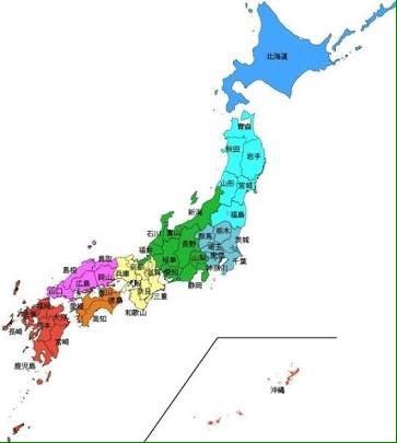 日本 地図 フリー ai
