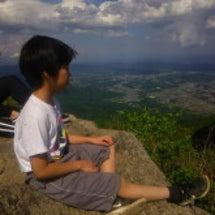 キャンプ・筑波山の登…