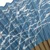 紳士用扇子セット2018 ギルディング和紙(手漉き和紙+金属箔)使用の純国産絹張り京扇子2種。の画像