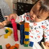 6月で2歳になるYちゃん、ピアノdeクボタメソッドとっても楽しそう(^^♪の画像