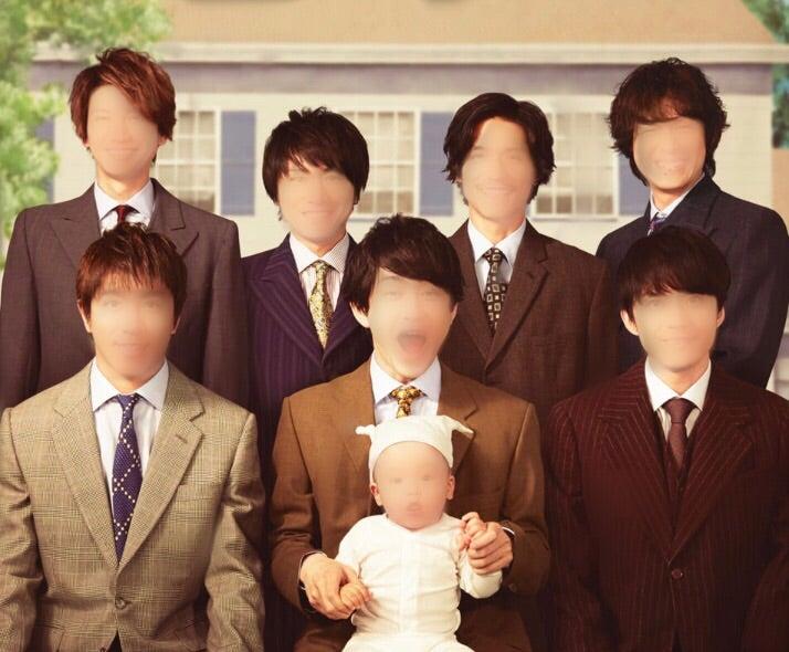 すっげー家族写真感がはんぱない!