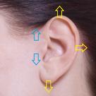 耳のツボ 1⃣ ☆ ツボ情報の記事より