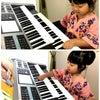 3歳Hちゃん今日からレッスン開始 (ピアノdeクボタメソッド)の画像