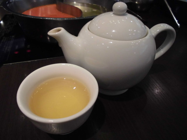 ホットジャスミン茶