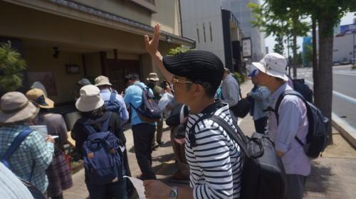 愛知ウォーキング城巡りクラブの吉田城見学会