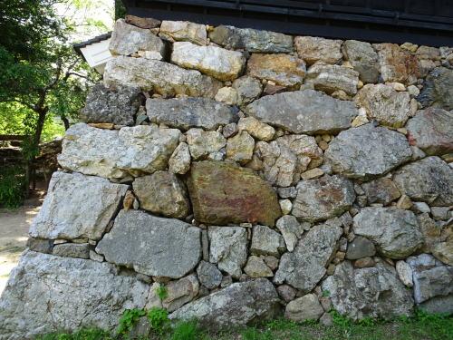 三河吉田城の池田輝政時代の石垣