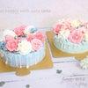 【レポ】母が大絶賛でした♡(´艸`)本物のブーケみたい!フラワーケーキ♡の画像