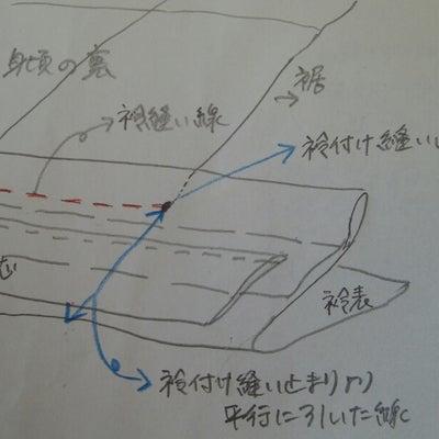 和裁 レース羽織5~衿作り後編の記事に添付されている画像