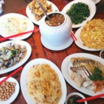 台湾レストランにて……