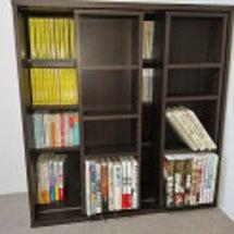 スライド書棚を買って…
