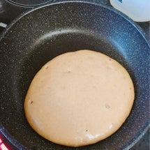 糖質オフのパンケーキ