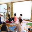5月16日 長谷川朋美さんと経血調整ヨガ&布ナプキンセミナー行いました。