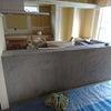 キッチンカウンターが着工前の基礎にしか見えないの画像