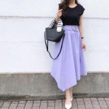 キレイ色スカートにし…