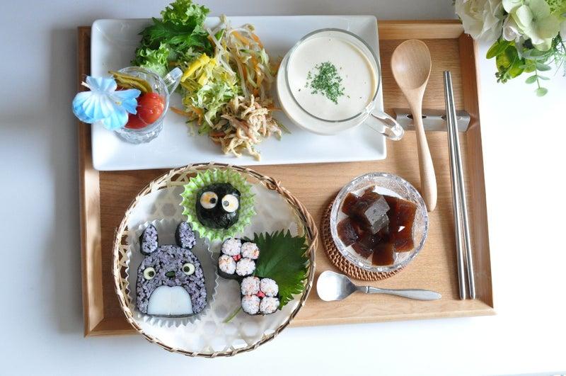 キャラクター巻き寿司でランチ会 千葉県 船橋市 飾り巻き