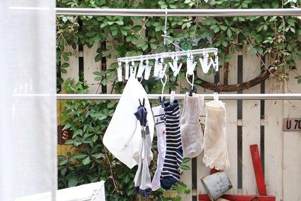 紐付き 洗濯 バサミ