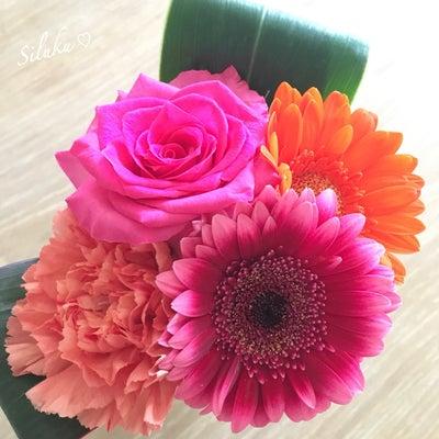 ♡ お花さんに感謝の記事に添付されている画像