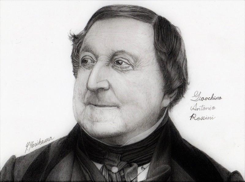 Gioachino Antonio Rossini ジョアキーノ・アントーニオ・ロッシーニ ...