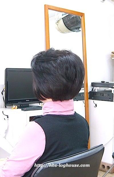 60代 髪型 ヘアスタイル ショートボブ