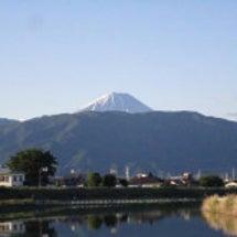 富士山がくっきり