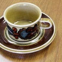 アラビア(ARABIA) オツソ(Otso) デミタスカップ&ソーサーの記事に添付されている画像