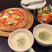 【週末ごはん☆あるものでおうちピザ!】
