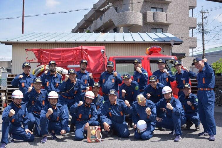 岡崎市消防団操法大会 ポンプ車...