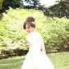 結婚式ヘアメイク/出張ヘアメイクのロケーションフォト/高めのお団子ヘアの画像