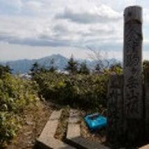 会津駒ケ岳山頂の様子