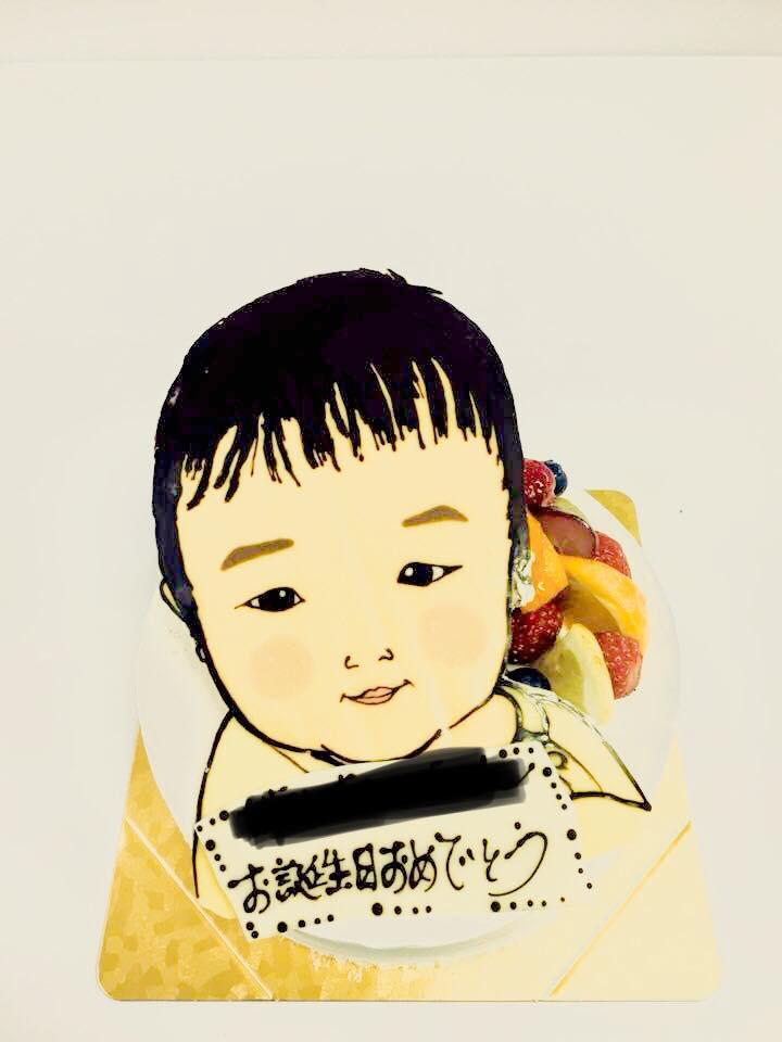 似顔絵ケーキ - 名古屋 低糖質ケーキ 通販 ギフト スイーツSaccho