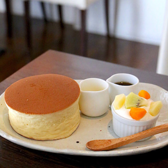 焼き上がりまで約30分!?厚さ5㎝の極厚ホットケーキを横浜の「 ソンジン」で食べてきた!