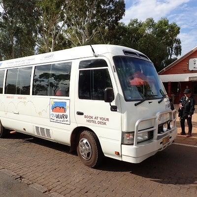 オーストラリアの旅 14 ULURU Hop on Hop off に関しての記事に添付されている画像
