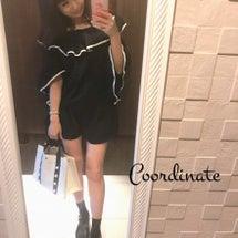 コーデ♡モノトーンカ…