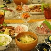 和食~つばすでお刺身と竜田揚げ