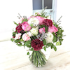 5月レッスン 手で束ねる花束の画像