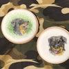 ペインティングのアイシングクッキー 「ロットワイラー」の画像
