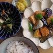 茄子と厚揚げの生姜味噌炒め