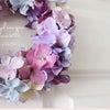 《募集》紫陽花✻グラデーションリース1dayレッスンのお知らせ♪の画像