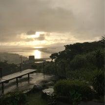 今日も不安定な天気