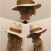 麦わら帽子の可愛いアレンジ3つ