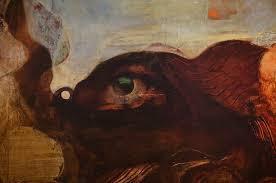 1938年の靉光(あいみつ)・眼のある風景 | 群青