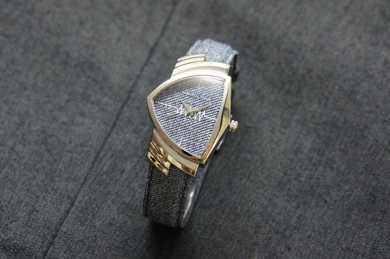 uk availability acd90 9249e ファッションと時計/ハミルトン ベンチュラ デニム】…店長甲斐 ...