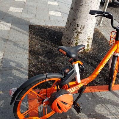 レンタル自転車のmobikeを使ってみようの記事に添付されている画像