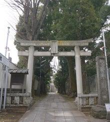 東京都品川区西五反田、桐ケ谷氷川神社