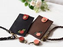 薔薇パスケース